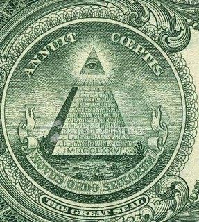 Gambar Pyramid pada Uang 1 Dollar Amerika
