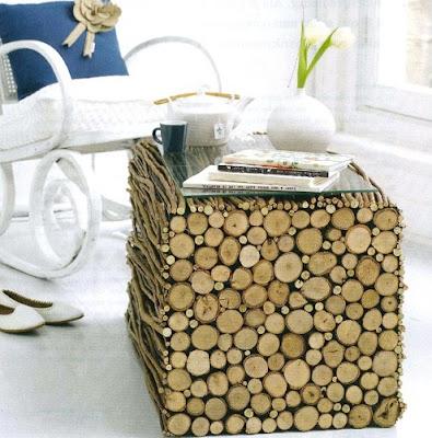 DIY table wood