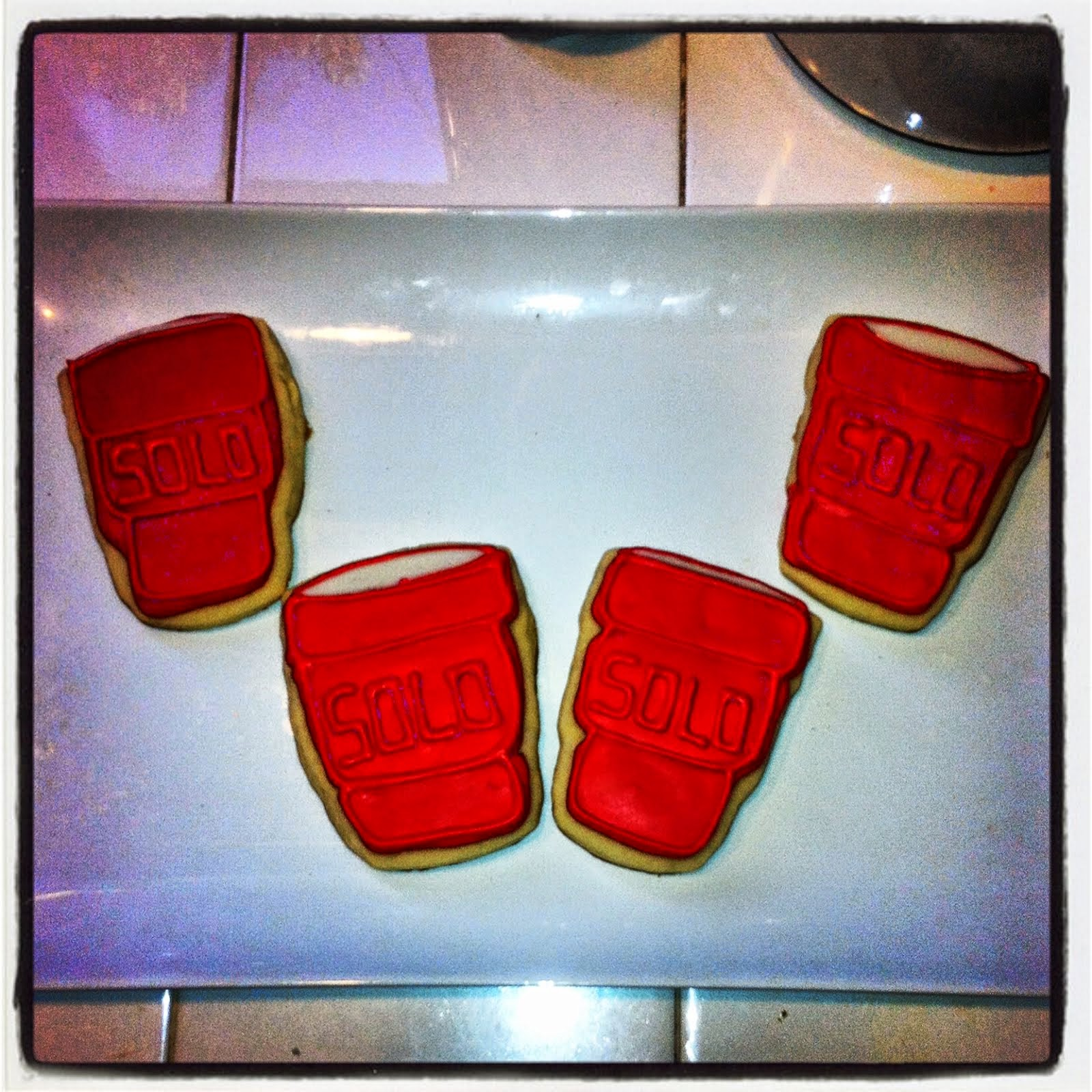 SOLO CUP COOKIES