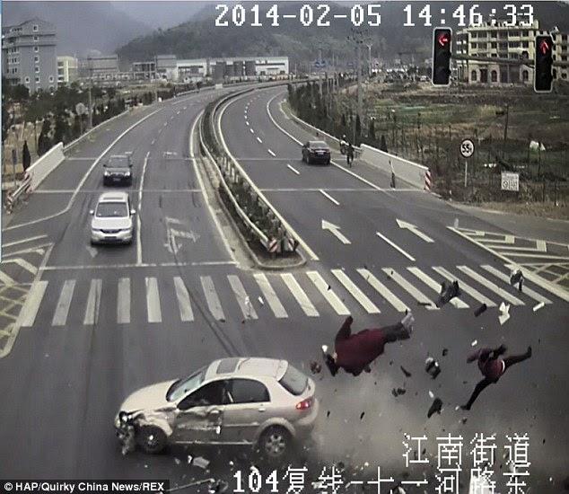 Foto Kecelakaan