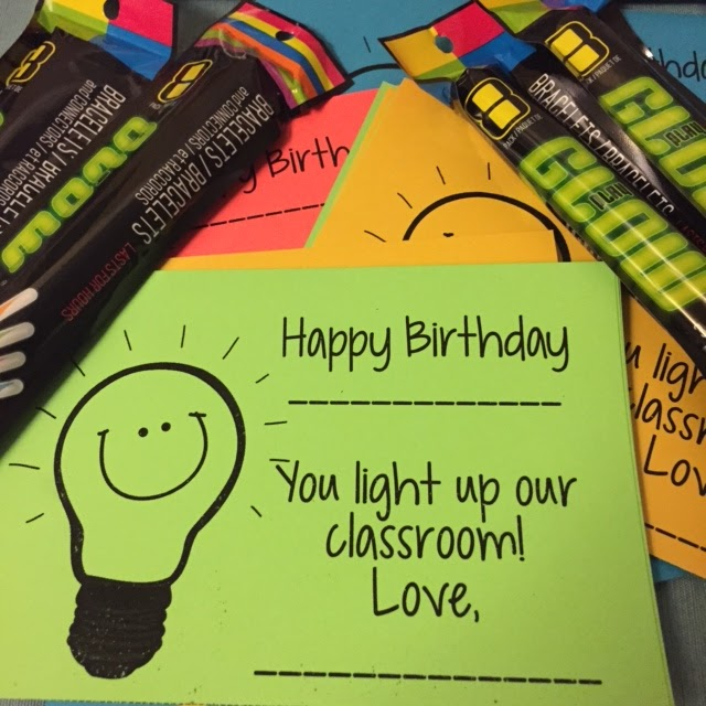 I Love My Classroom: Birthday Treats Complete {Freebie}