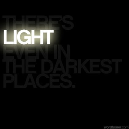 dini tell more the darkness and the light