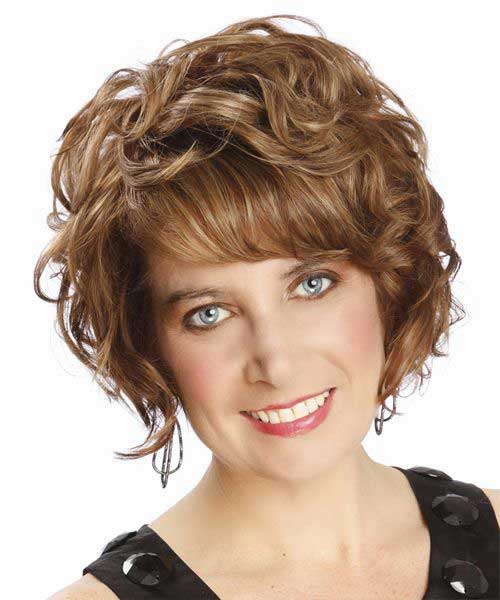 New Short Curly Hairstyles Oval Faces Best Haircuts