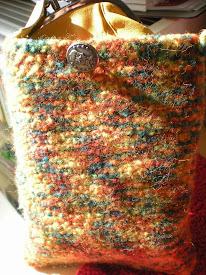 Fall felted bag