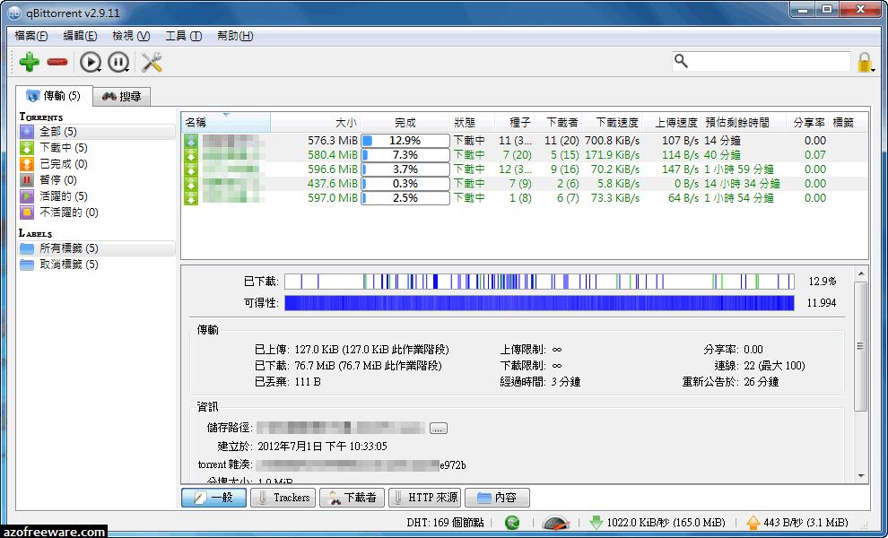 qBittorrent 4.1.1 免安裝中文版 - 取代uTorrent的BT下載器