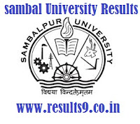 Sambalpur University +3 Final Year Results 2013