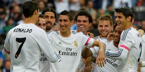 Skor Real Madrid vs Malaga