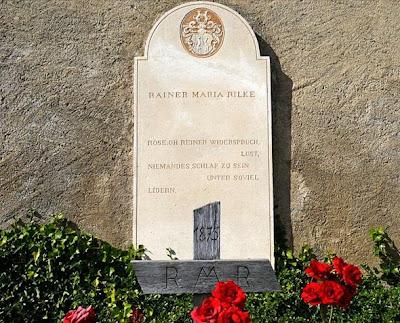 Tomba de Rainer Maria Rilke