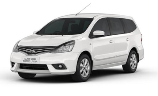 Grand Livina White - Nissan Mobil terbaik pilihan keluarga Indonesia