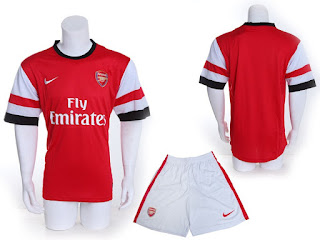 Kostum Home Arsenal 2012-2013