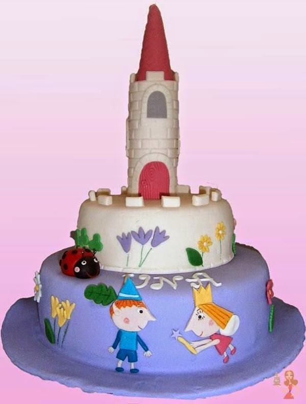 Make Me A Cake Ben And Hollys Little Kingdom Cakes