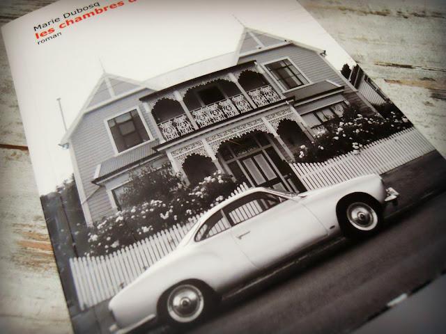 """couverture du livre """"Les chambres d'Antoine"""" de Marie Dubosq"""