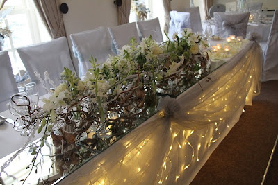 Creative cover hire ideas for table draping for Table 8 beeston