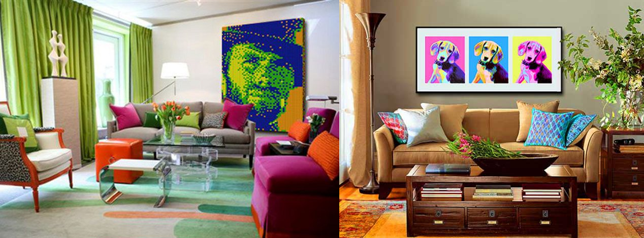 Decoracion Pop Art Casas Ideas