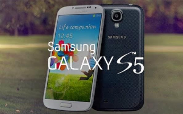 Gambar handphone Samsung Galaxy S5