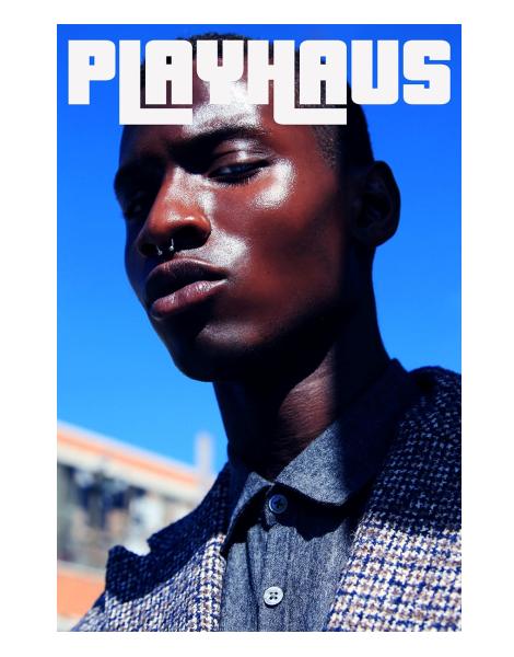 Adonis Bosso covers Playhaus Magazine No.1