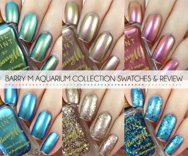 Barry M Aquarium Collection