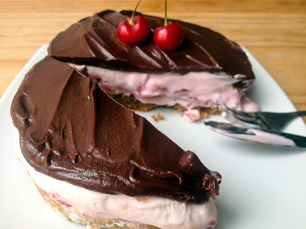 galletas, cerezas, chocolate... ¡qué más se puede pedir en una receta!