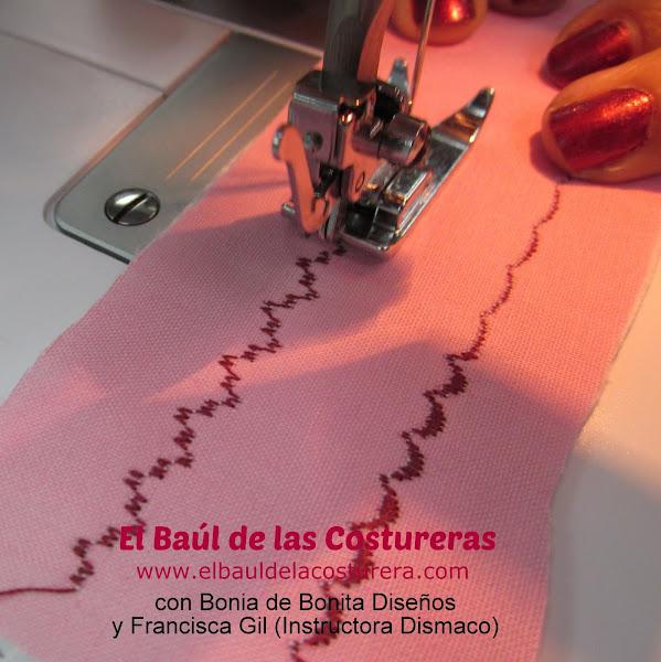 Máquina de coser Bernette Moscow 2 puntadas decorativas