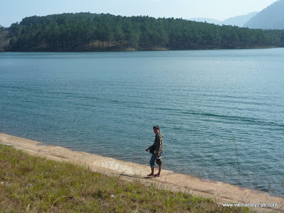 Dalat city - Tuyen Lam lake