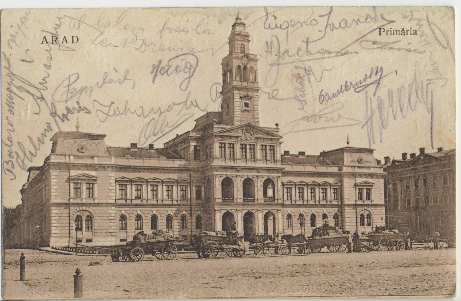 Primaria Aradului de odinioara