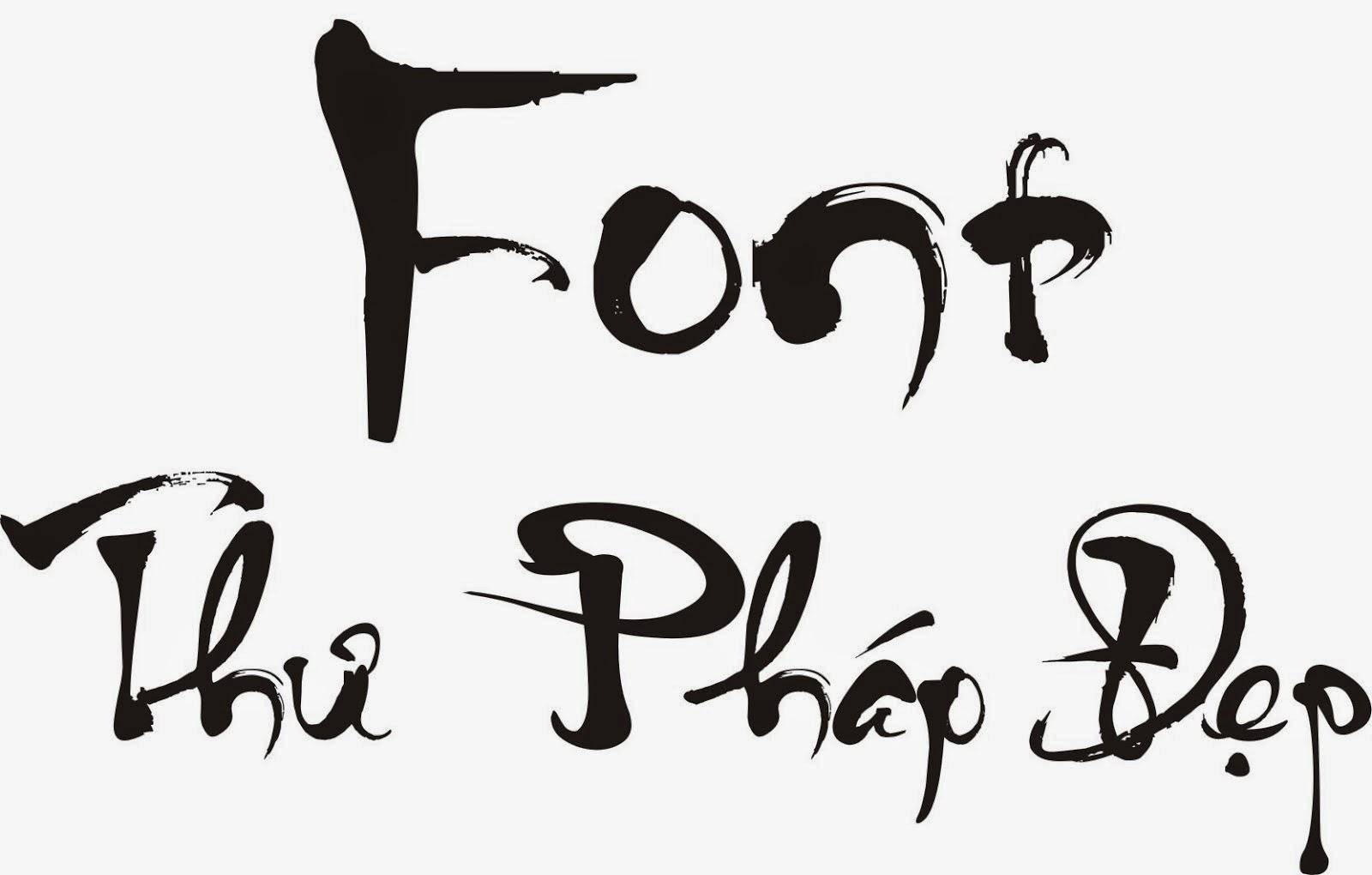Font thư pháp