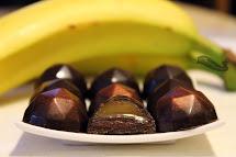 Banán-karamell bonbon