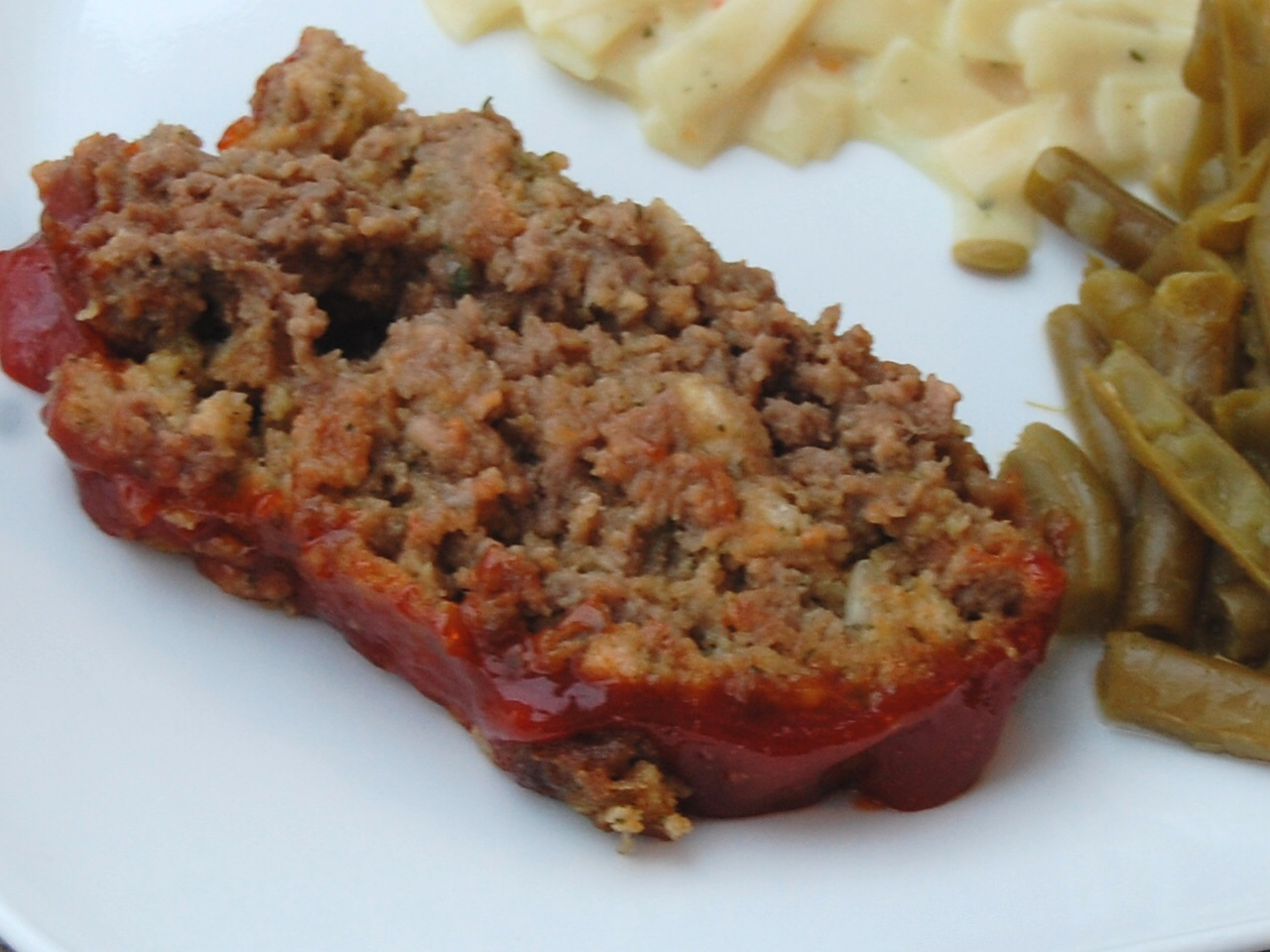meatloaf made with stove top dressing