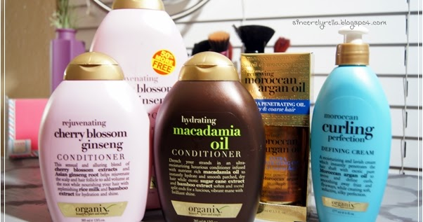Organix Macadamia Oil Shampoo Natural Hair