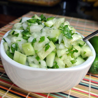 Mom, What's For Dinner?: Cucumber Salsa