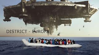 district №9 - Europa, migrats