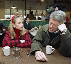 Bill and Hil contemplated