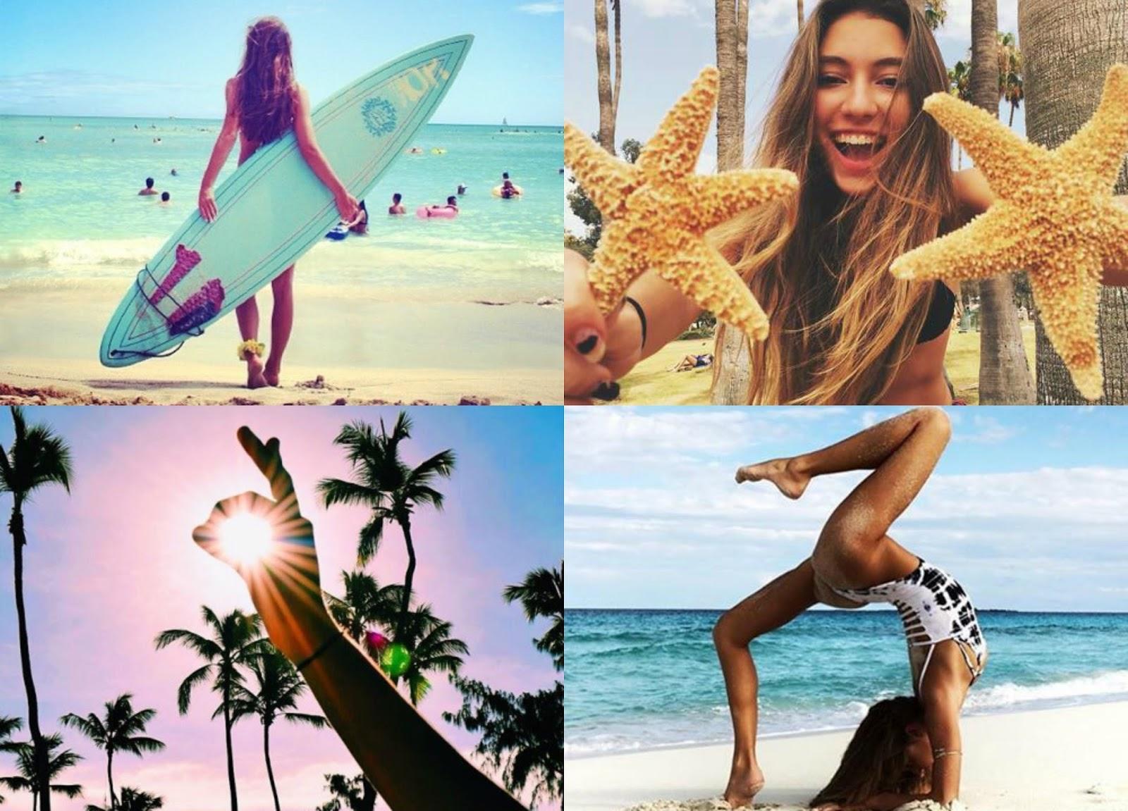 Inspiração para tirar fotos no verão #1
