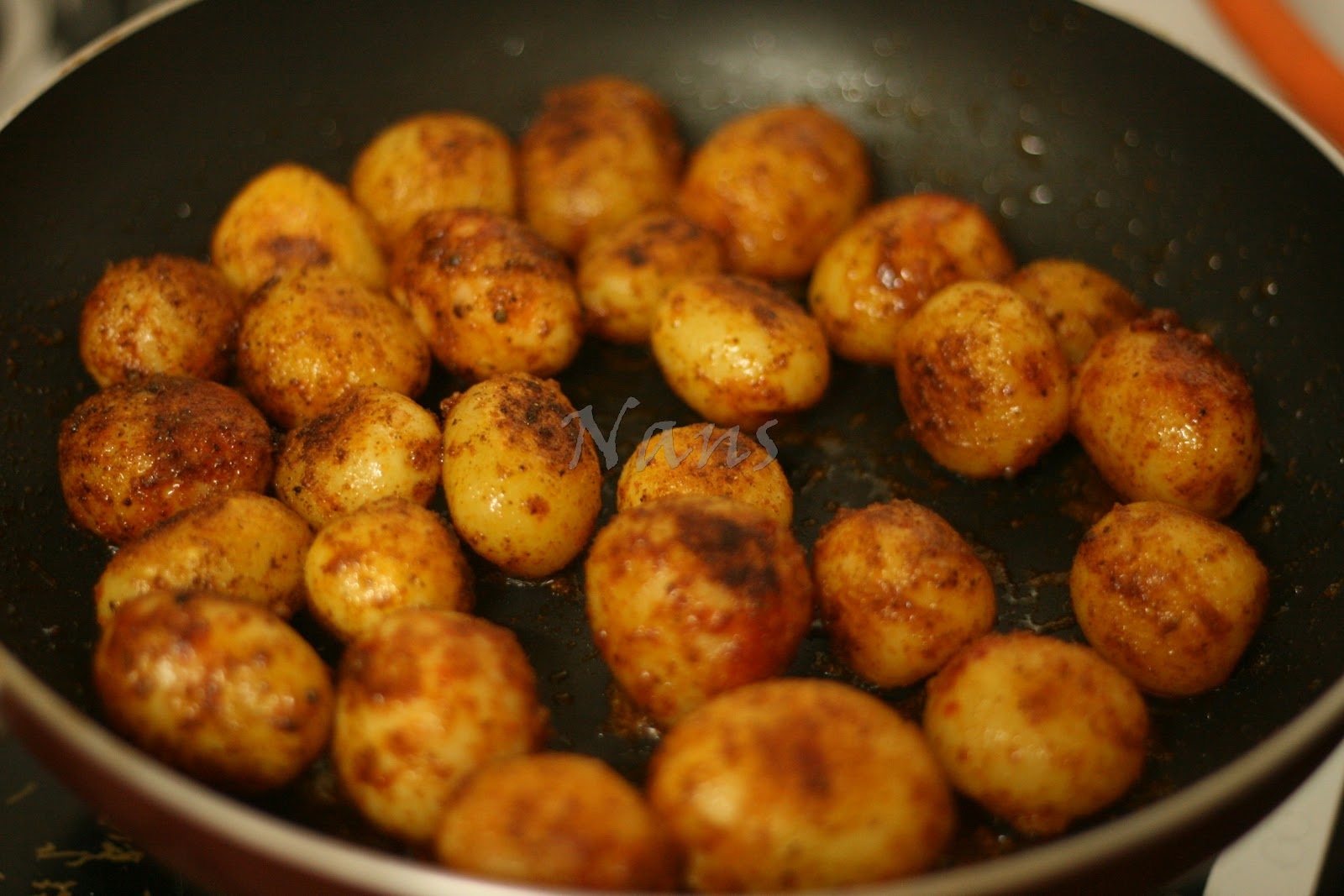 how to cook potatoes in a pan