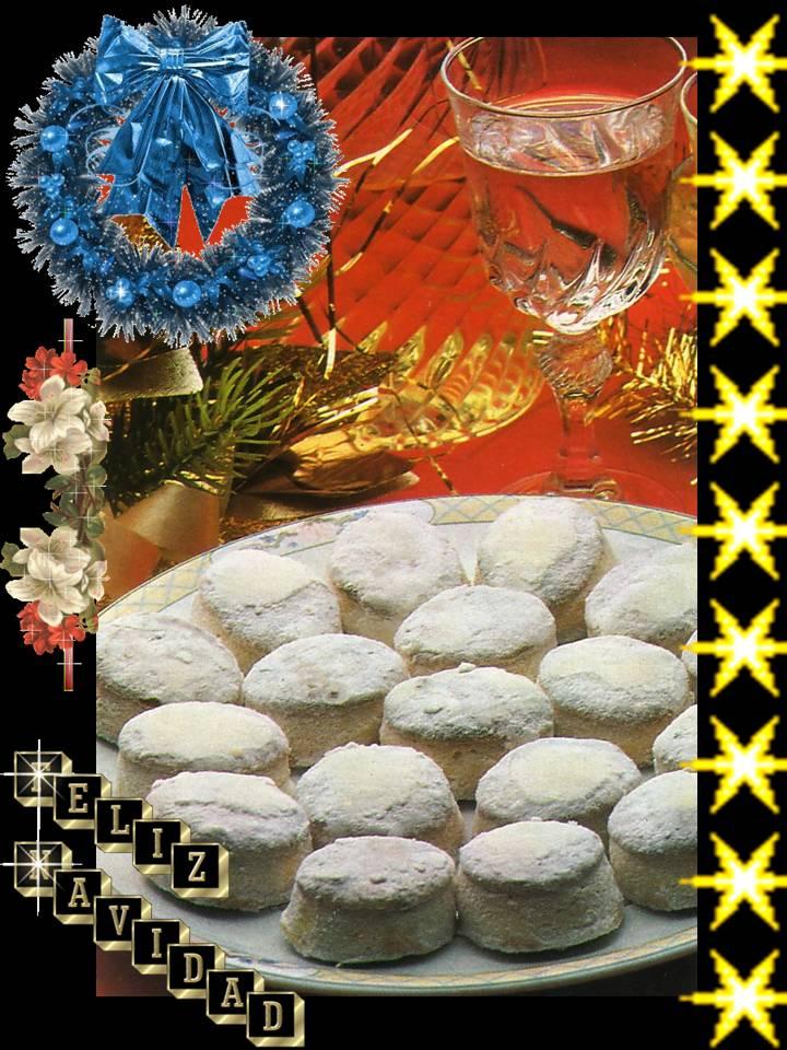 Pa mojar pan postres mantecados de almendra especial - Postre especial navidad ...