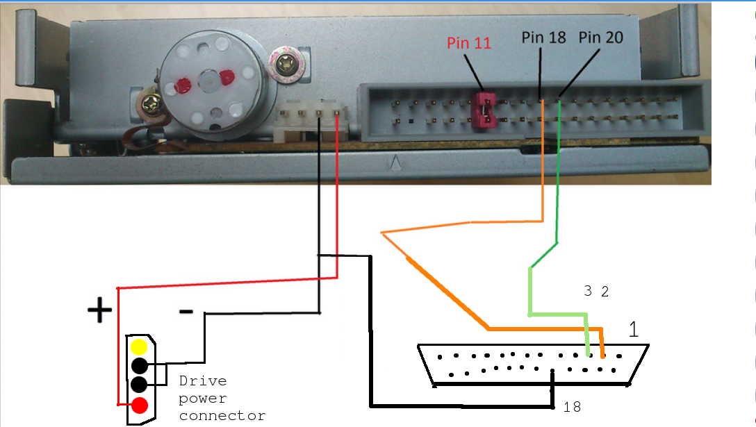 Fabulous Parallel Port Floppy Control Wiring Digital Resources Jebrpcompassionincorg