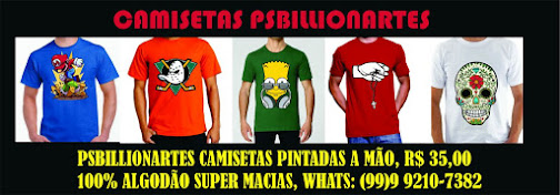 CAMISETAS PSBILLONARTES