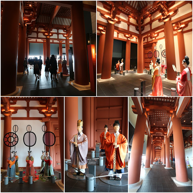 It is very impressive historical setting to attract visitors to understand Japanese history better at Museum of History in Osaka, Japan