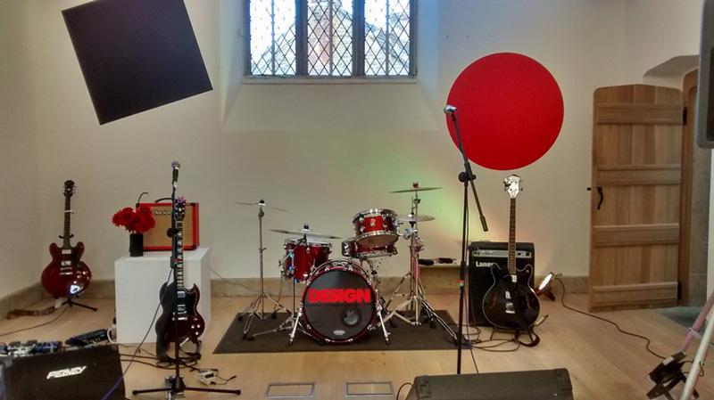design, design the band, osr, old school room, west coker,