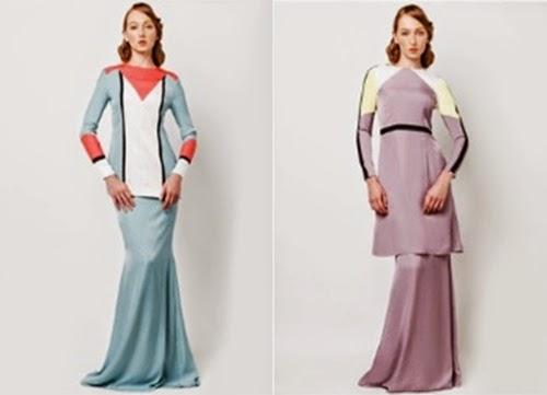 Baju Kurung Moden Lace Rizalman Koleksi Baju Kurung Moden 2014