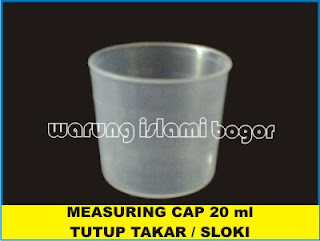 Measuring Cap Tutup Sloki 20 ml