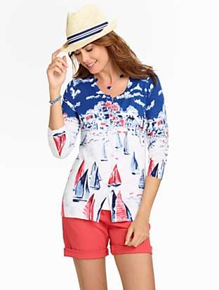 sailboat cardigan talbots on sale