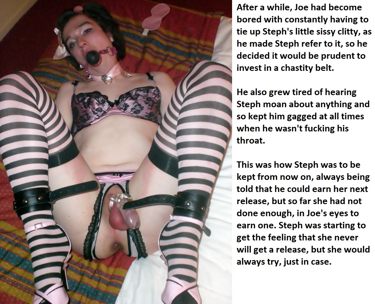 self bondage feminization stories