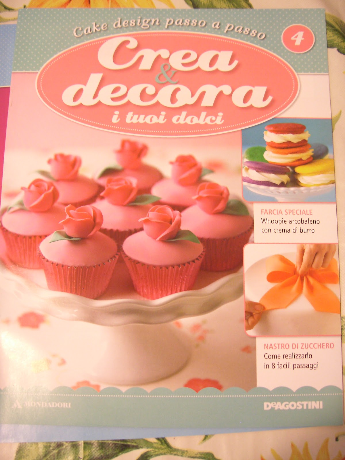 Crea e decora i tuoi dolci volume 2 3 4 5 numeri for Crea i tuoi progetti di casa