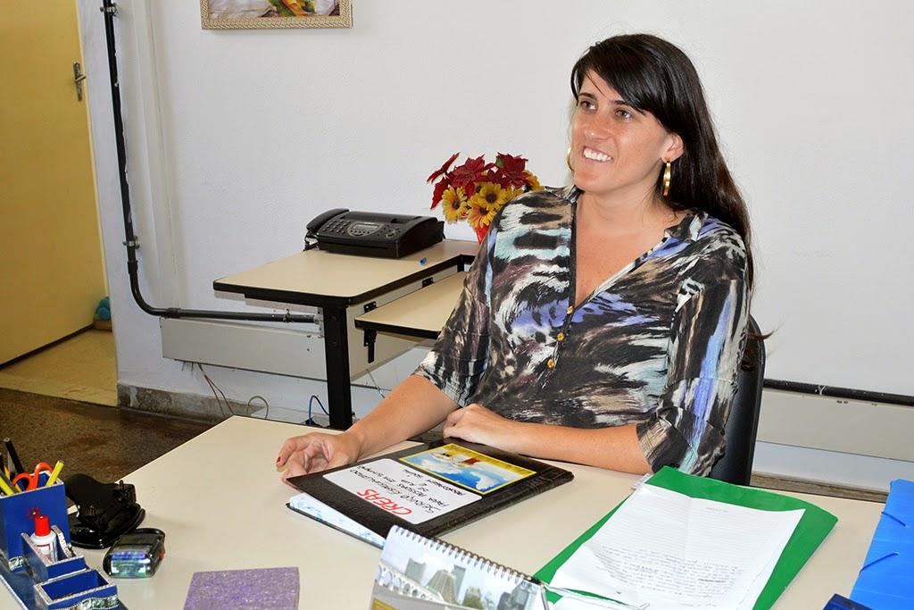 Assistente social e coordenadora do Creas, Rafaela Dália Mourão é uma das responsáveis pelo trabalho de abordagem e recuperação social