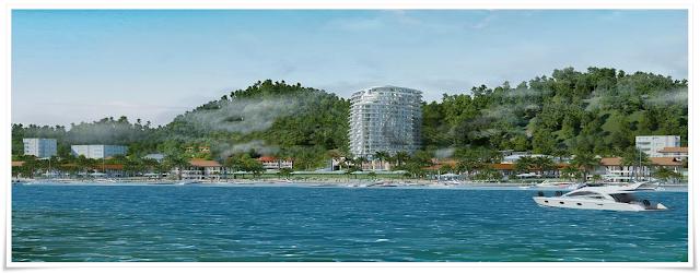 Mô tả căn hộ cao cấp Thuỷ Tiên Resort nhìn từ biển