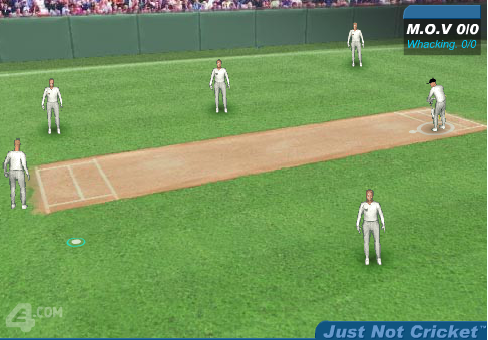 Play Just Not Cricket Game online,