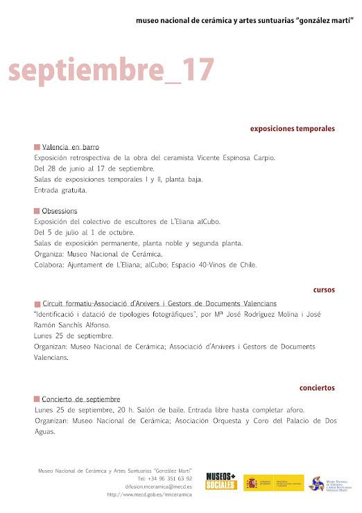 ACV 06 MUSEO GLEZ MARTÍ (01 de Setiembre al 30 de Septiembre 2017)