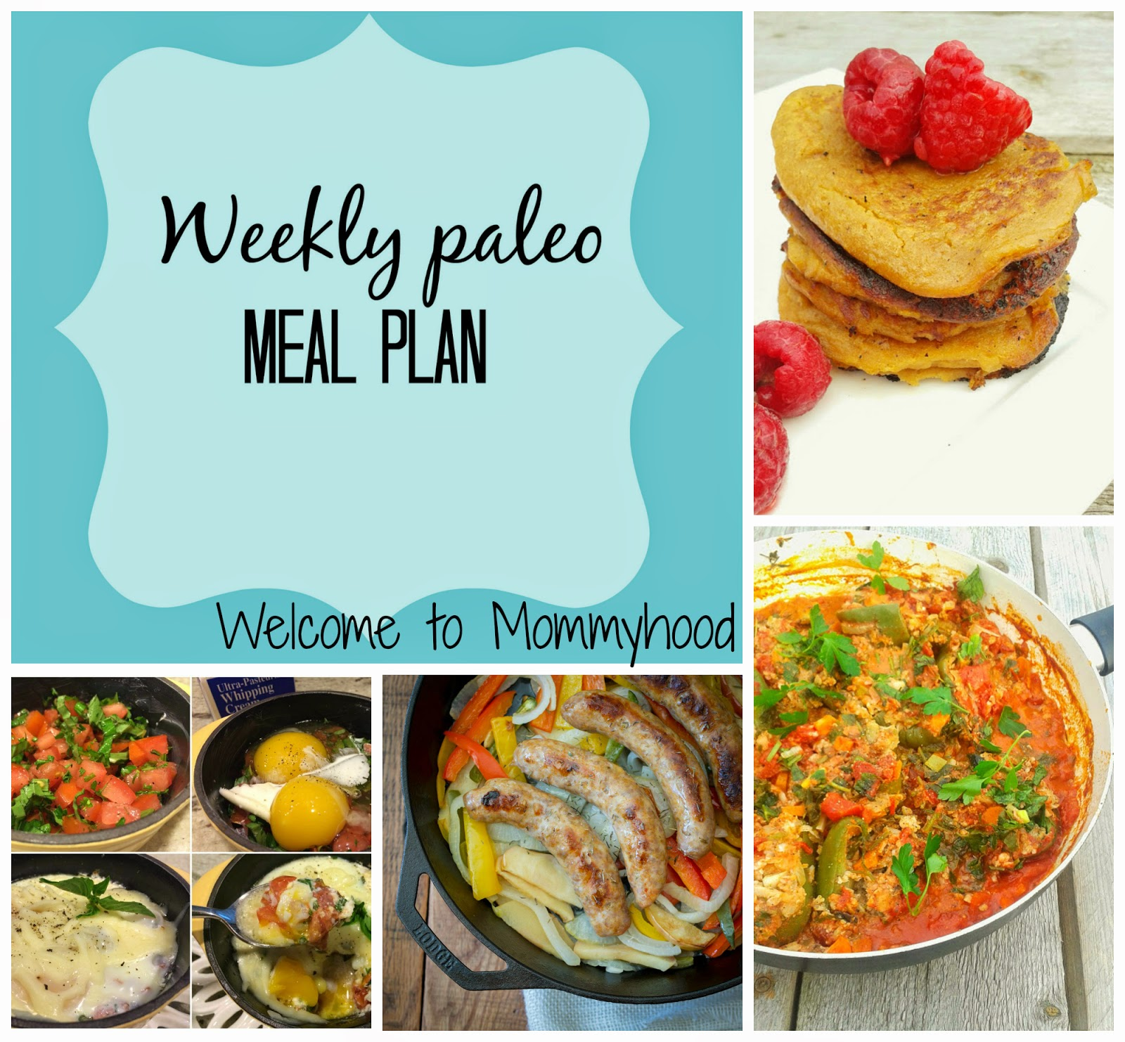 Healthy Meal Plan by Welcome to Mommyhood