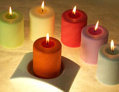 Fatto in casa candele profumate per ambienti realizzate - Candele fatte in casa ...